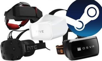 Steam : deux fois plus de joueurs VR sur PC en 2018