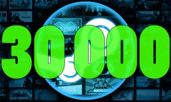 Steam : la plateforme de Valve dispose maintenant de plus de 30 000 jeux, des chiffres impressionnants