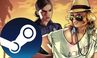 Charts Steam : GTA V remonte sur le trône grâce à la mise à jour Diamond Casino & Resort