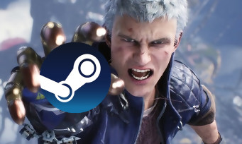 Charts Steam : Devil May Cry 5 fait un très bon démarrage !