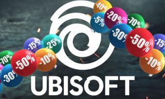 Steam : Ubisoft s'offre un weekend éditeur, tous ses jeux à prix cassés  !