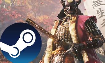 Charts Steam : Sekiro Shadows Die Twice se maintient au sommet !