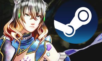 Charts Steam : Bloodstained, le jeu du producteur de Castelvania, est en tête des ventes