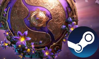 Charts Steam : le Level Bundle The International de DOTA 2 est la meilleure vente de la semaine