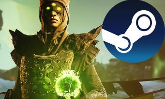 Charts Steam : Destiny 2 conserve son titre de meilleure vente
