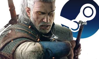 Charts Steam : The Witcher 3 Wild Hunt remonte en haut du podium