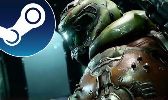 Charts Steam : DOOM Eternal continue de dominer le classement