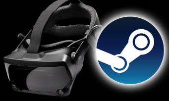 Charts Steam : le casque VR Valve Index est toujours sur le trône