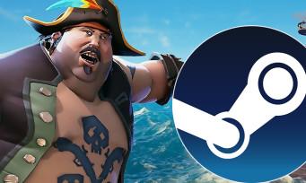 Charts Steam : la hiérarchie bouleversée par les soldes, Sea of Thieves en tête
