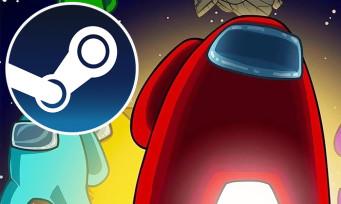 Charts Steam : Among Us continue de se vendre à tour de bras