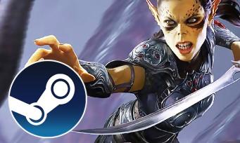 Charts Steam : Baldur's Gate 3 monte sur le trône, voici le classement des ventes