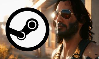Charts Steam : Cyberpunk 2077 continue de se vendre malgré le bad buzz, voici le Top 10