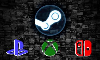 Steam : les jeux de la plateforme bientôt sur PlayStation, Xbox et Switch ?