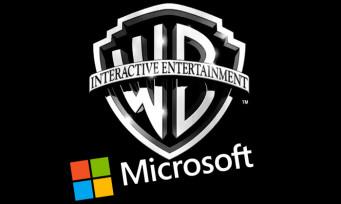 Warner Bros. Interactive : Microsoft serait intéressé par un rachat, premières rumeurs