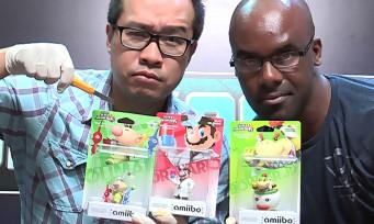amiibo : unboxing de Capitaine Olimar, Dr Mario et Bowser Jr avec Maxime et Laurely