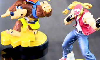 amiibo : les figurines Terry Bogard, Banjo & Kazooie et Byleth arrivent en 2021