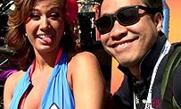 E3 2012 : Maxime tente un french kiss à une babe de NOS