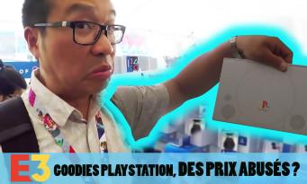 E3 2018 : des prix abusés sur le stand goodies PlayStation ? On vous fait la visite