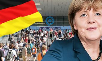 gamescom 2017 : la chancelière Angela Merkel ouvrira le salon
