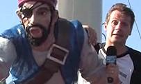 Tokyo Game Show : Marcus à bord d'un bateau-pirate sur le lac Ashi