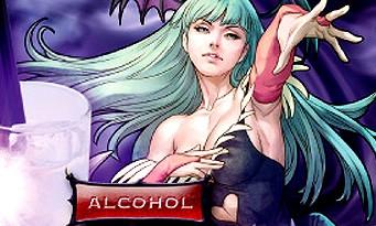 Bar Capcom : découvrez le menu spécial Darkstalkers !