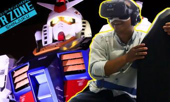 Tokyo Game Show 2017 : on a testé tous les jeux de la VR Zone de Shinjuku