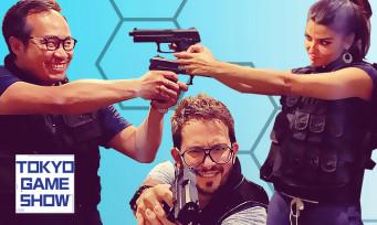 """On a testé l'escape game """"Metal Gear Solid"""" avec Carole Quintaine et Julien Chièze (TGS 2018)"""