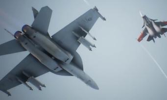 Ace Combat 7 : les avions F-2A et F-35C en action dans un trailer de gameplay