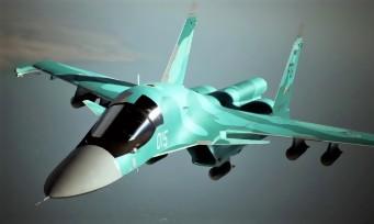 Ace Combat 7 : le Sukhoï 34 vient larguer ses bombes en vidéo !