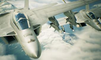 Ace Combat 7 : plus de 4 minutes de gameplay en VR à bord d'un F18 et d'un F22