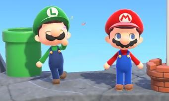 Animal Crossing New Horizons : la mise à jour Mario Bros. arrive, la voilà en vidéo