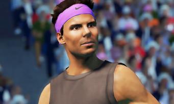 AO International Tennis 2 : voici la liste des joueurs présents dans le jeu