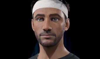 AO International Tennis : un outil de création de personnage très poussé dévoilé en vidéo