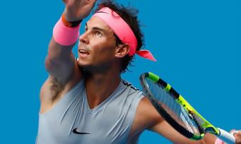 AO International Tennis : un trailer de lancement avec Nadal et un petit garçon