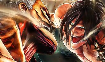 Attaque des Titans 2 (A.O.T. 2) de retour avec un trailer plein de sang et de combats