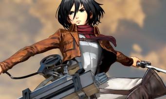 L'Attaque des Titans 2 : Mikasa et Armin tranchent du titan en vidéo