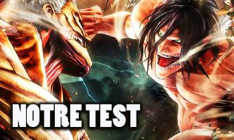 Test L'Attaque des Titans 2 : redondant mais terriblement jouissif