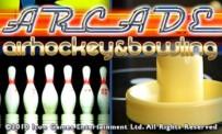 Arcade Air Hockey & Bowling annonc