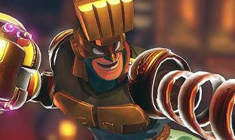 ARMS : le nouveau perso Max Brass profite de l'E3 2017 pour se présenter en images
