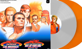 Art of Fighting 3: the soundtrack in a double vinyl, it's already a collector's item