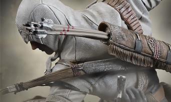 Assassin's Creed 3 : Ubisoft propose une nouvelle figurine de Connor, la voici en vidéo