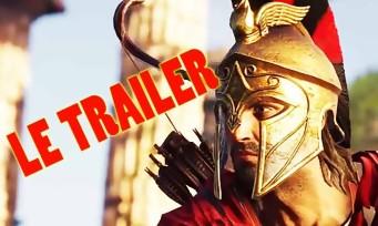 Assassin's Creed Odyssey : plongez en Grèce antique dans un 1er trailer épique !