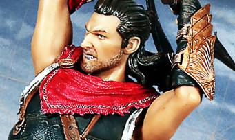 Assassin's Creed Odyssey : 3 figurines présentées dont la Lance de Léonidas, plutôt classe !