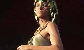 Assassin's Creed Origins : un nouveau trailer en images de synthèse avec César et Cléopâtre