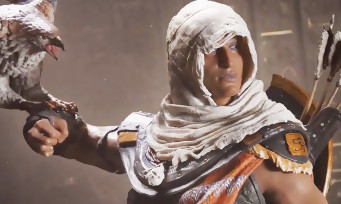 Assassin's Creed Origins : Ubisoft dévoile les figurines de Bayek, d'Aya et la Pomme d'Eden