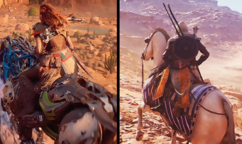 Assassin's Creed Origins VS Horizon Zero Dawn : qui est le plus beau, qui a le meilleur open world ?