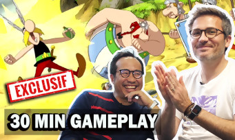 Asterix & Obelix Slap them All: the 2D beat'em all in action, we play 30 min with Julo, the game's producer
