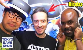 Astro Bot : on teste le Super Mario du PS VR avec son créateur, qui est français !