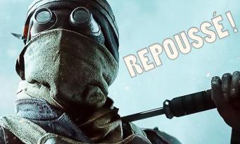 Battlefield 5 : mauvaise surprise, EA repousse la date de sortie d'un mois !