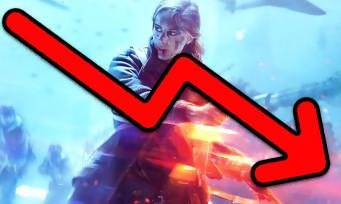 Battlefield V : face aux mauvaises ventes, l'action EA plonge en bourse
